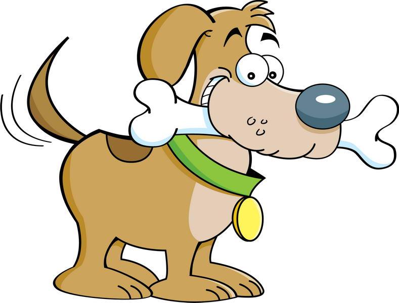 Картинки собака с косточкой для детей, поздравления днем матери